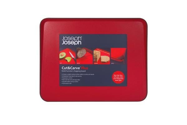 Joseph Joseph Cut & Carve Plus Red 38x30cm