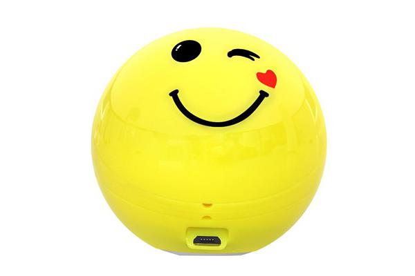 PROMATE Cool Emoji 3W Bluetooth     Speaker With Handsfree Function. Easy music navigation. 3