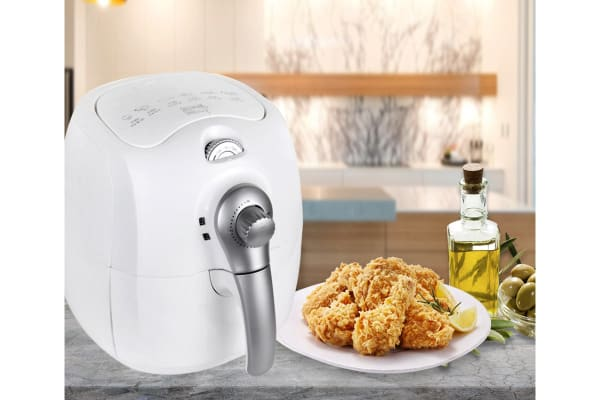 Kitchen Couture 4L Low Fat 1400W Air Fryer (White)