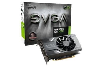 EVGA GeForce GTX1060 Graphics Card 3GB GDDR5 DVI HDMI 3xDisplay Port 3 Years Warranty