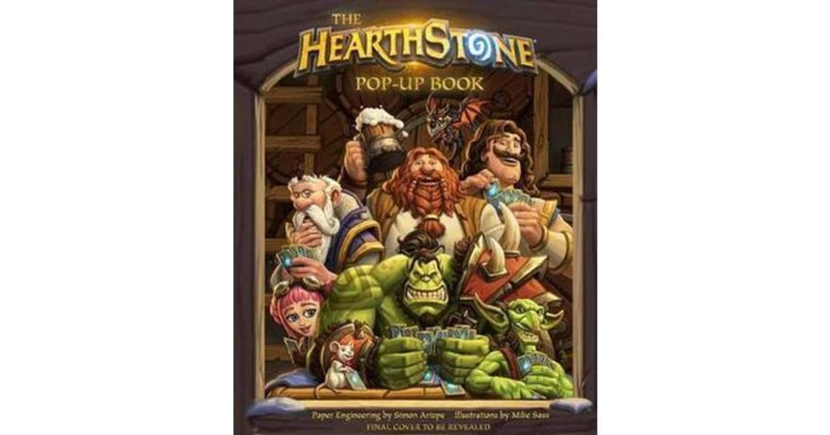The Hearthstone Pop-up Book by Mike Sass   9781683831433   2018    Non-Fiction > Computing & I T   