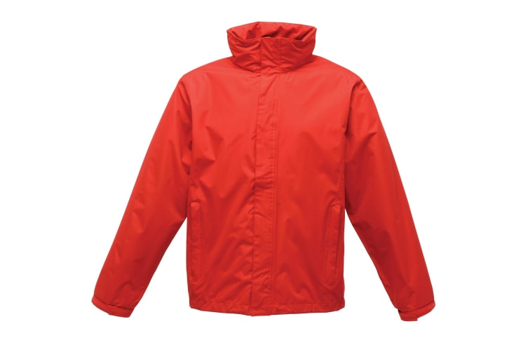 Regatta Mens Pace Ll Windproof Waterproof Jacket (Classic Red) (L)