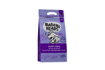 Barking Heads Puppy Days Complete Dry Dog Food (May Vary) (2kg)
