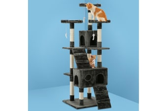 i.Pet Cat Tree Trees Scratching Post Scratcher Tower Condo House Furniture