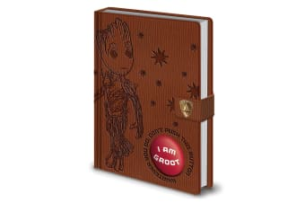Guardians Of The Galaxy 2 Groot Audio Notebook (Brown)