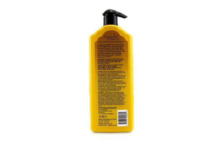 Agadir Argan Oil Daily Moisturizing Shampoo (For All Hair Types) 1000ml