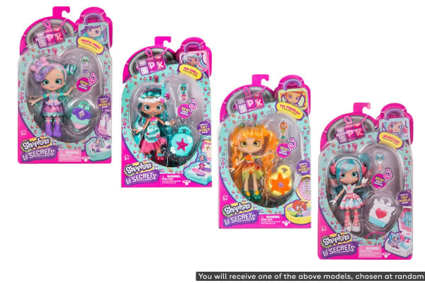 Shopkins Shoppies Lil' Secrets Doll S1 W2 (Assorted)