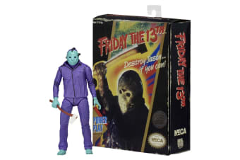 """Friday the 13th 7"""" Jason Video Game Figure"""