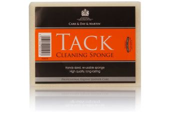 Carr & Day & Martin Tack Cleaning Sponge (Yellow) (One Size)