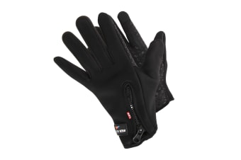RockJock Womens/Ladies Thermal Insulation Grip Gloves (Black) (One Size)