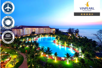 VIETNAM: 7 Nights at Vinpearl Resort & Spa Phu Quoc Including Flights for Two