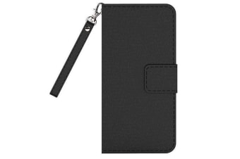 Cleanskin Flip Wallet Case with Mag-Latch for Apple iPhone 8 Plus / 7 Plus - Black