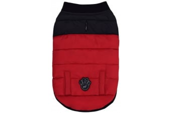 Canada Pooch Summit Stretch Dog Jacket (Red)