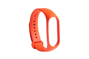 Xiaomi Replacement Strap for Mi Band 3 (Orange)