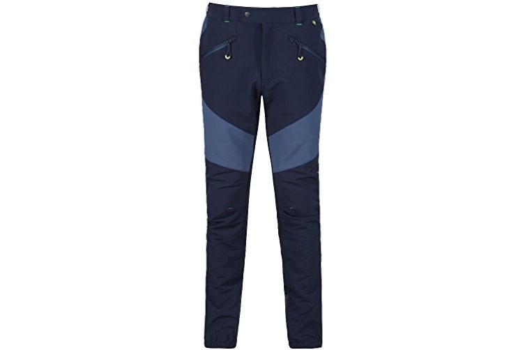 Regatta Great Outdoors Mens Mountain Active Stretch Trousers (Navy/Dark Denim) (42R)
