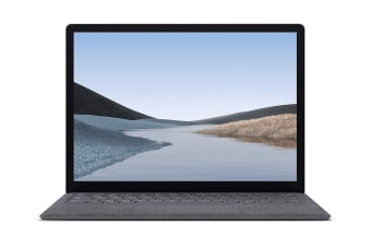 "Microsoft Surface Laptop 3 13.5"" (256GB, i5, 8GB RAM, Platinum Alcantara) - AU/NZ Model"