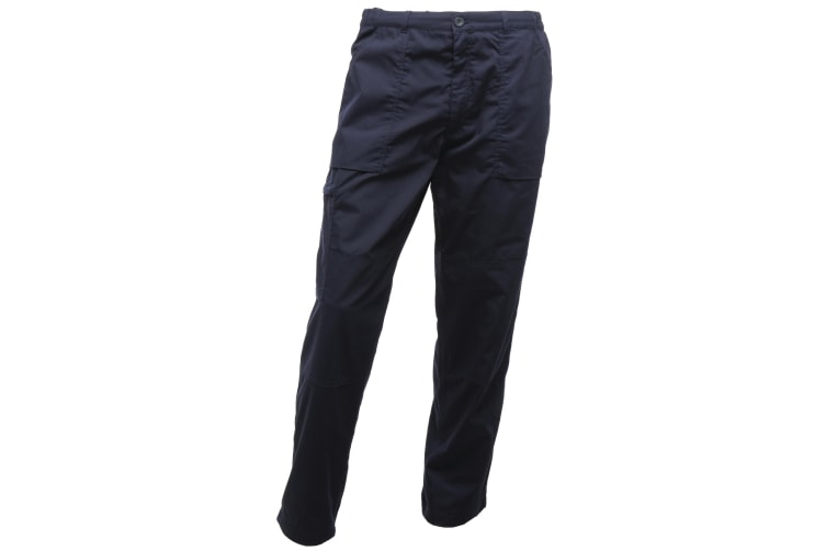 Regatta Mens Sports New Lined Action Trousers (Navy) (28 x Long)