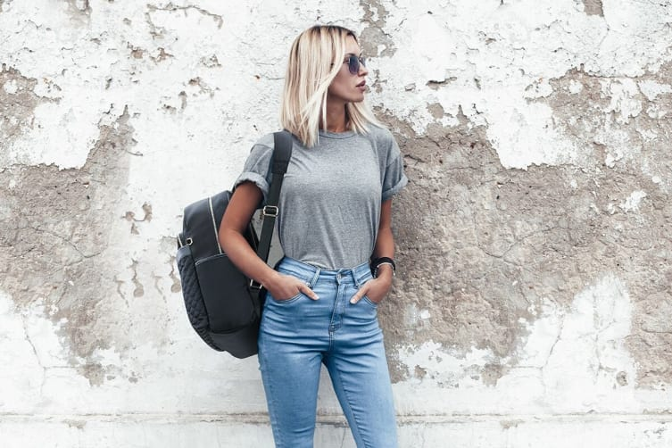 Luxe Travel Backpack with USB Charging Port