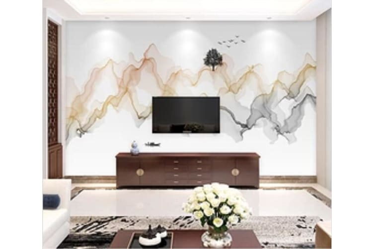 3D Colored Valley 560 Wall Murals Woven paper (need glue), XL 208cm x 146cm (WxH)(82''x58'')