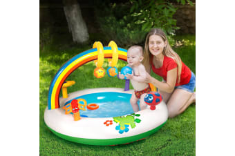 Bestway Inflatable Play Kids Pool Child Activity Gym Center Rainbow