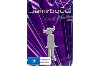 JAMIROQUAI: LIVE AT MONTREMX -Animated Region 4 Rare- Aus Stock DVD NEW