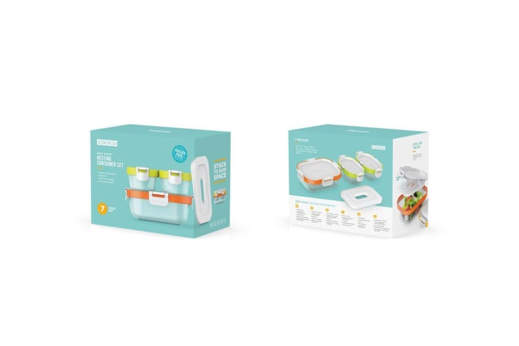 Zoku Neat Stack Container 7 Piece Set