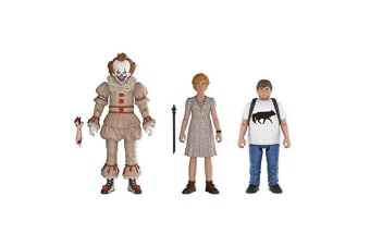 It (2017) Pennywise, Beverly & Ben Action Figure 3 Pk