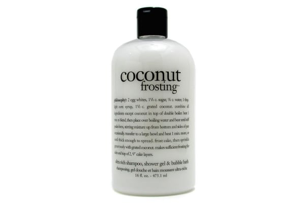 Philosophy Coconut Frosting - Ultra Rich Shampoo, Shower Gel & Bubble Bath (473.1ml/16oz)