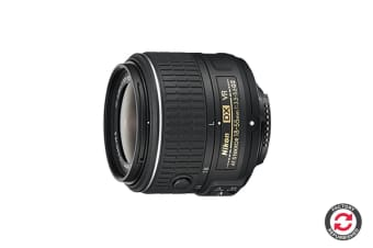 Refurbished Nikon AF-S DX 18-55mm f/3.5-5.6 VR II Lens