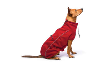 Dog Gone Smart Olympia Softshell Dog Coat (Red)