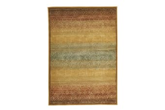 Tribal Design Rug Gold