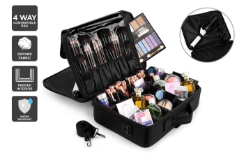 Orbis 4-Way Professional Travel Makeup Bag