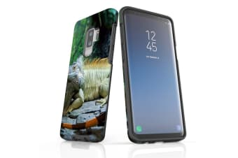 For Samsung Galaxy S9+ Plus Case Armour Cover  Big Lizard
