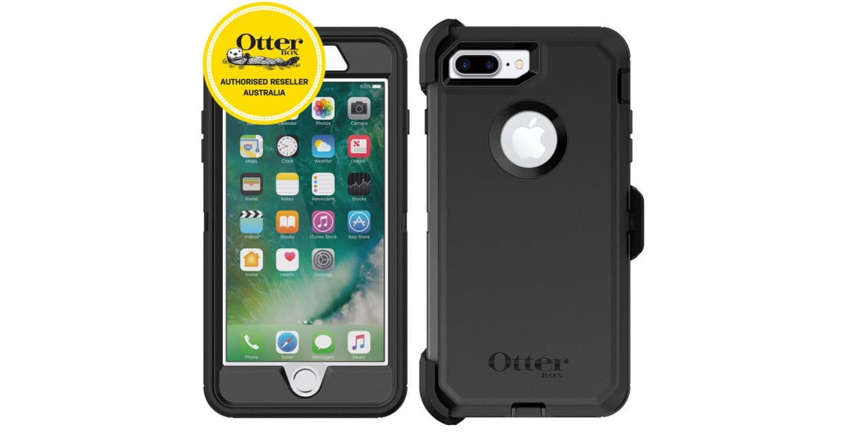 the latest 23197 a3b82 OtterBox Defender Case for iPhone 7 Plus/8 Plus - Black | Other Phone  Accessories & Cables