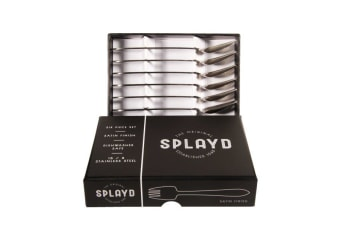 Splayd Mini Set of 6 Satin Finish in Black Box