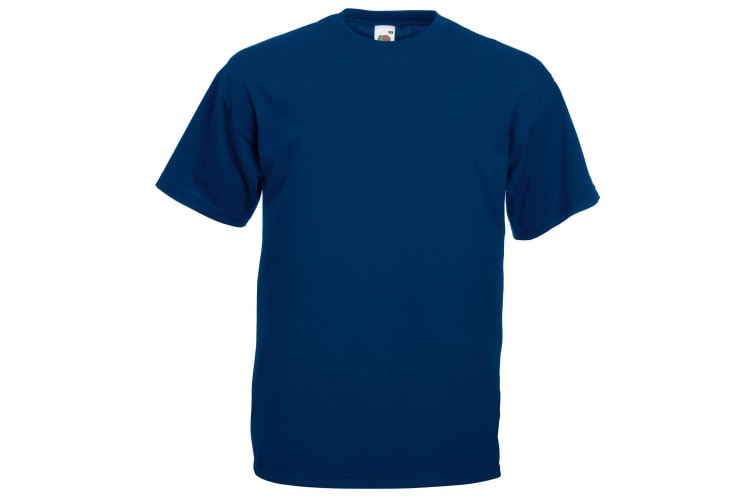 Fruit Of The Loom Mens Valueweight Short Sleeve T-Shirt (Navy) (XL)