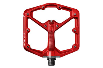 Crank Brothers Stamp 7 Bike Bicycle Pedals Large Red