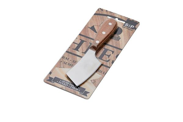 Salt & Pepper Fromage Cheese Cleaver 20cm