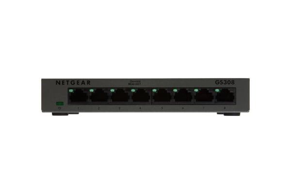 Netgear GS308 Soho 8-Port Gigabit Unmanaged Switch (GS308-100AUS)
