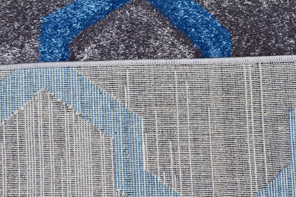 Cross Hatch Modern Rug Grey 400X80cm