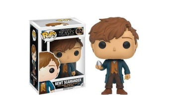 Fantastic Beasts & Where to Find Them Newt w/ Egg Pop! Vinyl