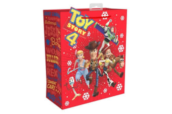 Toy Story Large Christmas Gift Bag (Red)