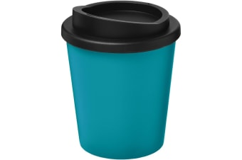 Americano Espresso 250ml Insulated Tumbler (Aqua Blue/Solid Black)