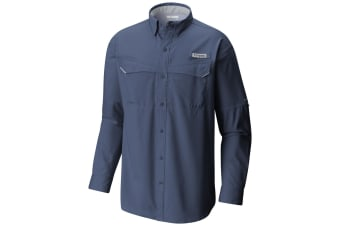 Columbia Mens Low Drag Offshore Long Sleeve Shirt - Night Tide