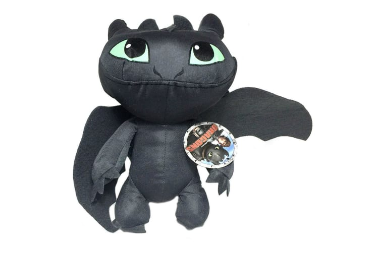 How to Train Your Dragon 25cm Toothless Soft Plush/Stuff Toy Kids/Baby Gifts