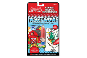 Melissa and Doug On the Go - Water Wow ! Connect Dots