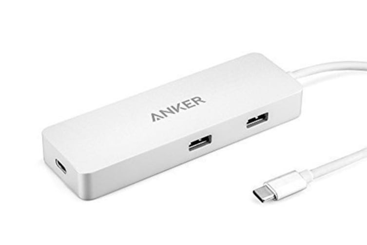 Anker Premium USB-C Hub with Ethernet and Power Delivery (A8302H41)