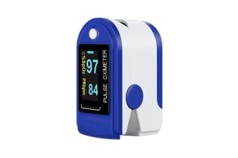 Finger Tip Pulse Oximeter, Blue
