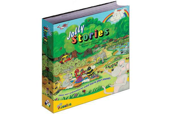 Jolly Stories - in Precursive Letters (BE)