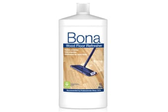 Bona 1L Wood Floor Refresher Maintenance for Varnished Wooden Wear Protection